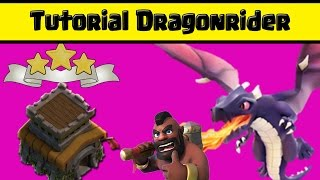 Totorial War Attack Menggunakan Dragon Rider di TH-8