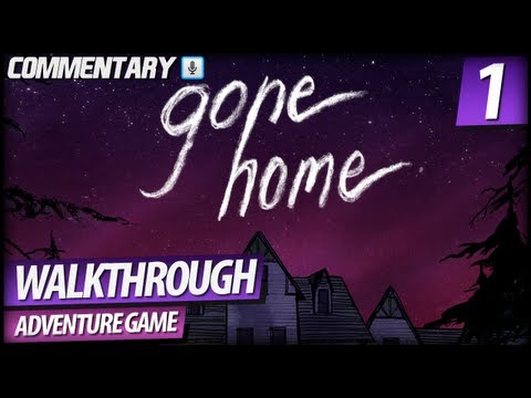 Gone Home Walkthrough Gameplay - PART 1   Arriving Home (Commentary)