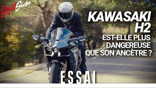 ESSAI : Kawasaki H2 : plus dangereuse que son ancêtre ?