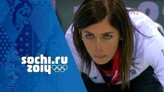 Curling - Women's Round Robin - Russia v Great Britain   Sochi 2014 Winter Olympics