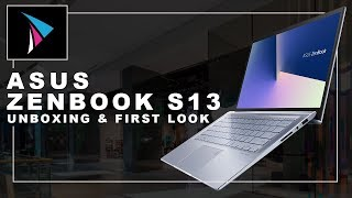 ASUS Zenbook S13 Unboxing and First Look