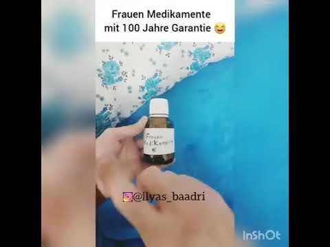 Frauen Medikamente ist da