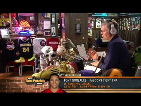 Tony Gonzalez on The Dan Patrick Show 4/5/13