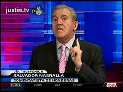 Llamada a Salvador Nasralla en Futbol Picante