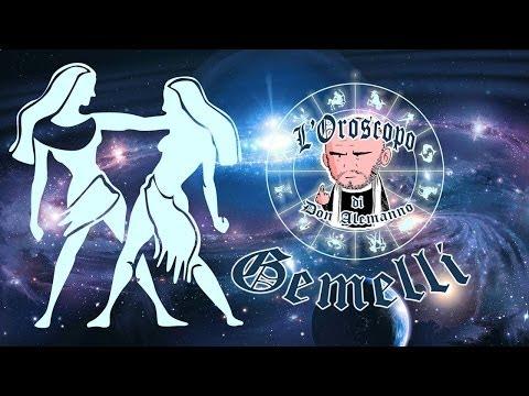 Gemelli - L'Oroscopo di Don Alemanno 2014