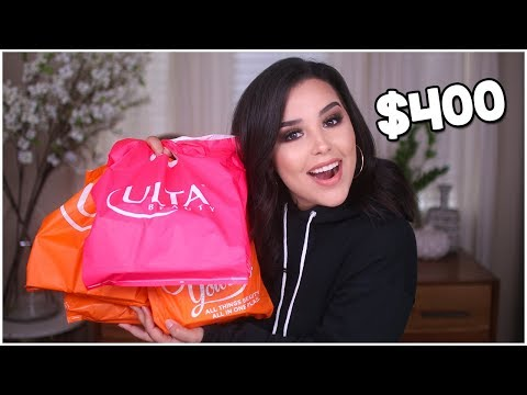 $400 ULTA BEAUTY HAUL! NEW DRUGSTORE MAKEUP for FALL 2018!   MakeupByAmarie