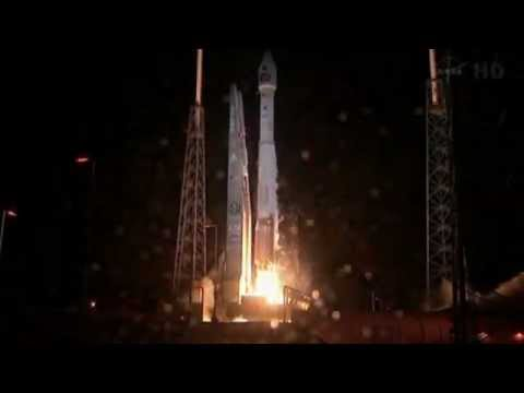 Nasa Launches Altas 5 Satellite