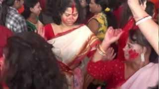 Bengali Women's Dance on Dashami-2012