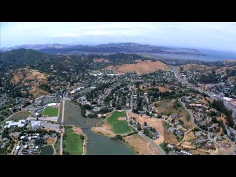 Marin County Arial View - Scenic Timelapse and Landscape Video in HD