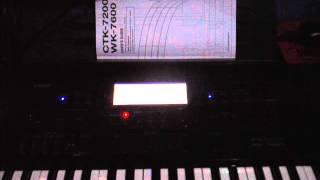 DEMO STYLE INTERNAL CASIO WK-7600