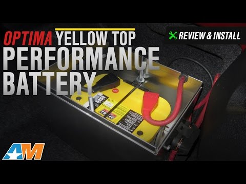 1979-2010 Mustang Optima Yellow Top Performance Battery Review & Install