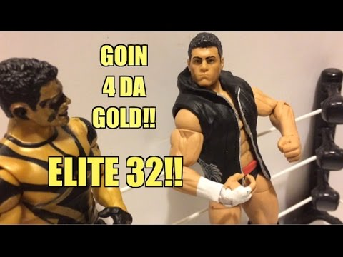 WWE ACTION INSIDER: E32 Cody Rhodes Elite Series 32 Mattel Wrestling Figure Toy Review!