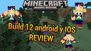 Minecraft build 12 final y revision para IOS