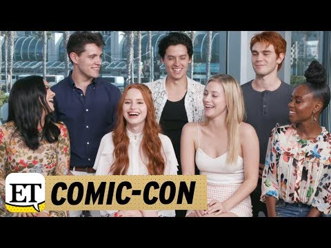 More from Entertainment Tonight: http://bit.ly/1xTQtvw ET caught up with the cast of 'Riverdale' at Comic-Con, where they dished on what to expect in season two.