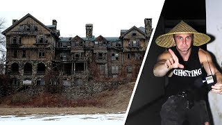 EXPLORING HAUNTED ABANDONED HOTEL