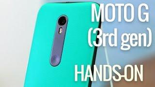 Motorola Moto G (3rd gen) hands-on