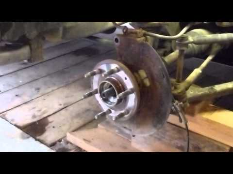 How To Replace A Chevy Silverado Front Spindle Bearings
