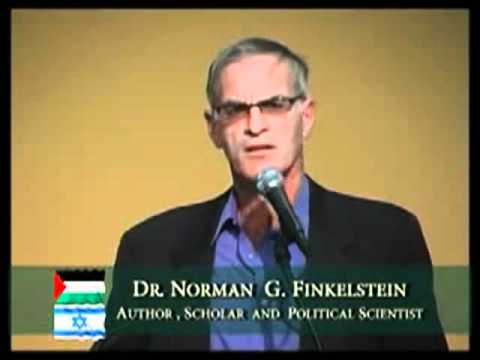 Norman Finkelstein - Excellent talk on the Israel-Palestinian conflict