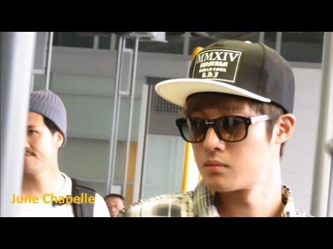 20140915 & 20140917 Kim Hyun Joong Departing Seoul & Nagoya Airport video