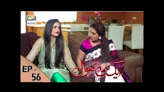 Ek hi bhool Episode 56 - 23rd August 2017 - ARY Digital Drama