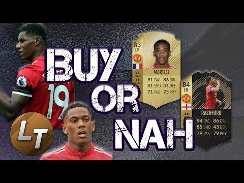 83 Martial vs. IF Rashford!     Buy or Nah     FIFA 18 Player Review Series