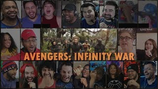 """Avengers: Infinity War"" - Official Trailer (Reaction Mashup)"