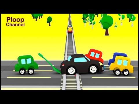 Cartoon Cars - RAILWAY DISASTER - Cartoons for Children - Childrens Animation Videos for kids