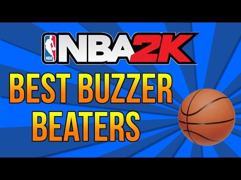 NBA 2K: Best Buzzer Beaters and Game Winners!!!