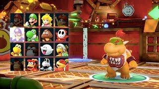 Super Mario Party - King Bob-omb's Powderkeg Mine (Bowser, Wario, Rosalina & Bowser Jr)