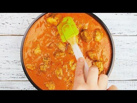 Курица в томатно-сливочном соусе - Рецепты от Со Вкусом