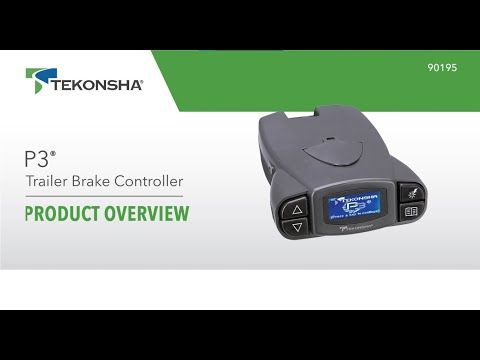 Tekonsha® Prodigy® P3 Trailer Brake Controller | 90195 | Product Overview