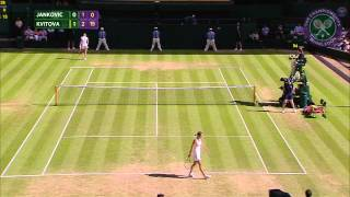 2015 Day 6 Highlights, Jelena Jankovic vs Petra Kvitova