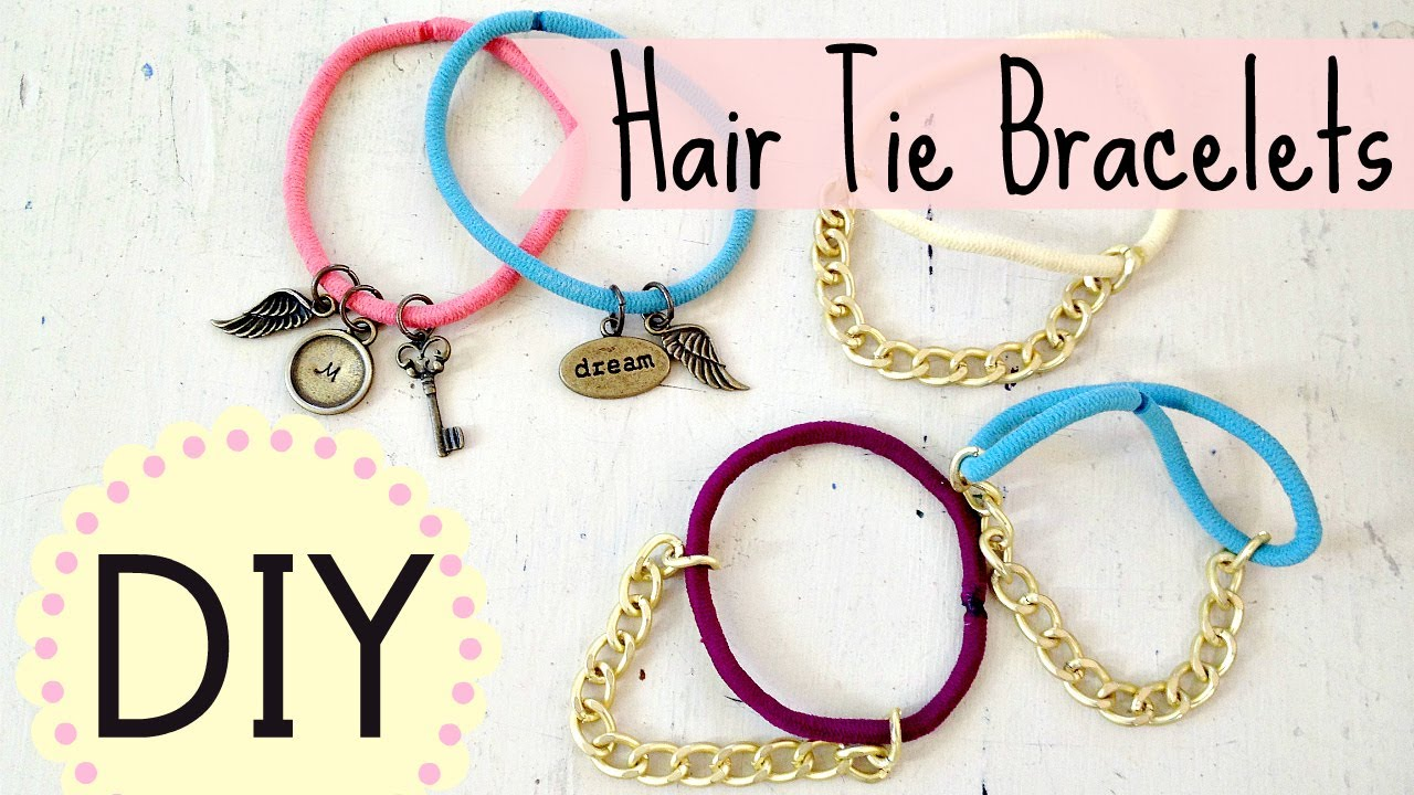 Bracelet tutorial string easy