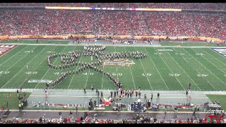 "Ohio State Marching Band ""Back to the Future""- Halftime Show vs. Notre Dame (2016 Fiesta Bowl)"