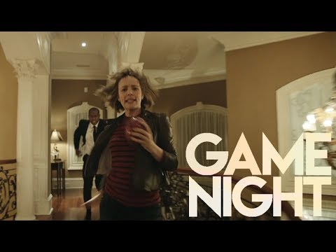 Game Night (2018) HD Egg Chase Scene
