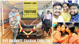 Bought Car From Youtube Earnings | Mother's Day Special | Mahindra | Car Delivery | Mahindra Marazzo