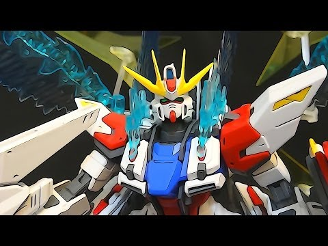MG Star Build Strike Gundam (2: Wings & Verdict) Build Fighters Iori Sei's Gundam model review ガンプラ