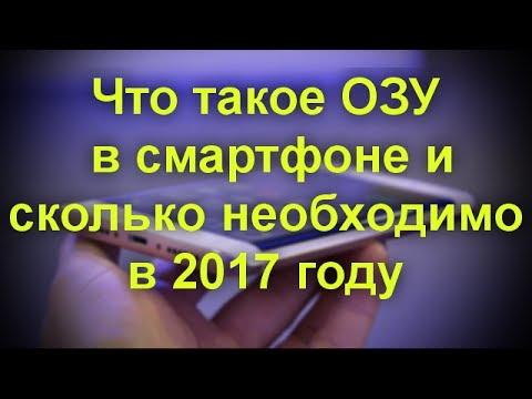 Что такое ОЗУ в смартфоне и сколько необходимо в 2017 году