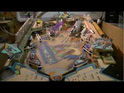 homemade pinball machine