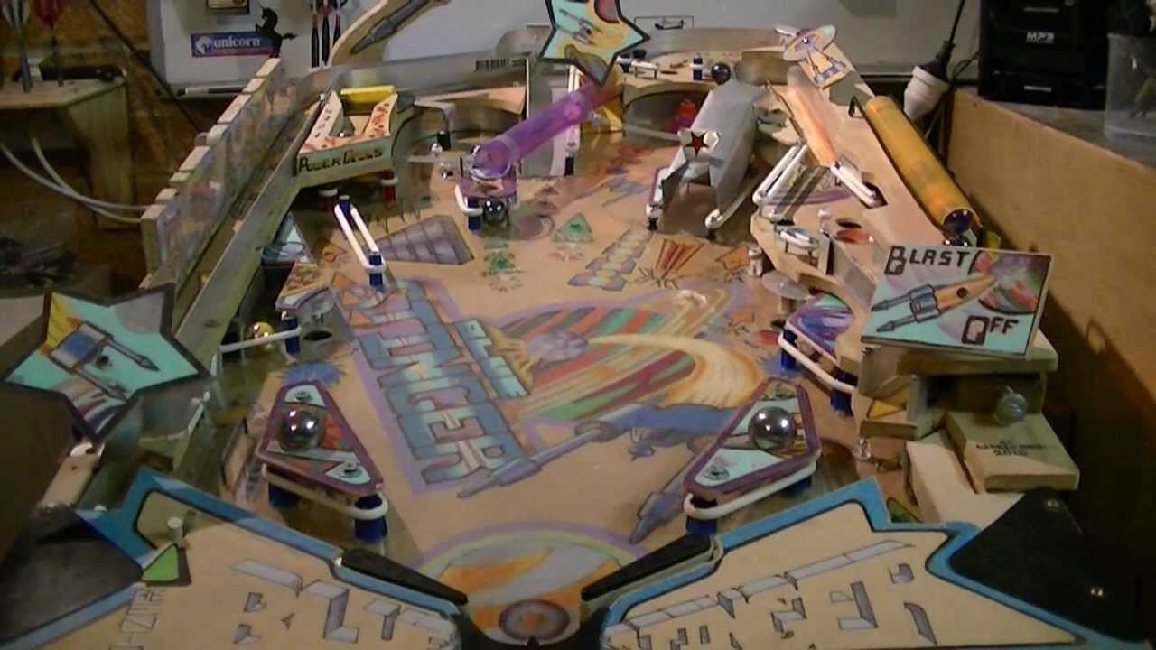 how to make a pinball machine