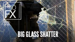 Big Glass Shatter | Impact Sound Effects | ProFX (Sound, Sound Effects, Free Sound Effects)
