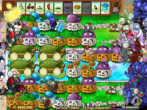 Plants vs zombies longest survival endless online