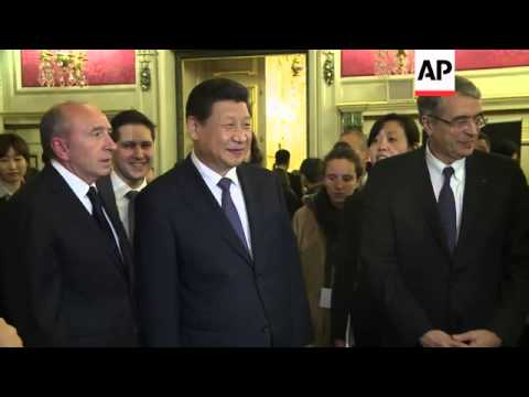 Chinese President Xi Jinping attends state banquet in his honour