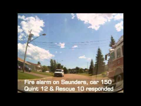Drunk Male, Fire Chief slow response time, MFD tree fire call