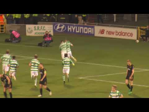 FAI Cup Semi Final Replay Goal 2 Mikey O'Connor v's Dundalk 10-10-2017
