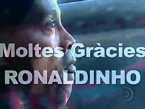 Homenagem do barcelona a ronaldinho ga 250 cho globo esporte hdtv