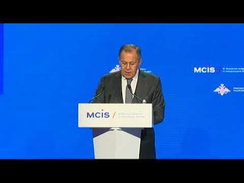 С.Лавров на VII  Московской конференции по безопасности