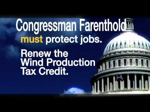 Congressman Farenthold: Save Wind Energy Jobs