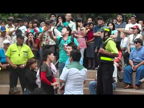 Comicos Ambulantes, Serenazgo Miraflores + Abuelito