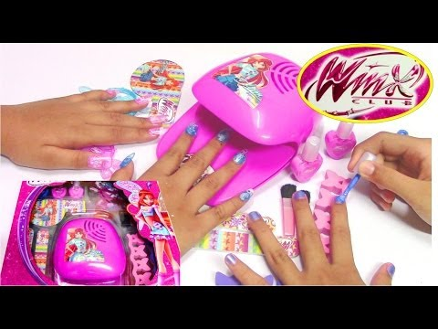 Winx Fairy Fashion Set - Do-It-Yourself Nail Art Design